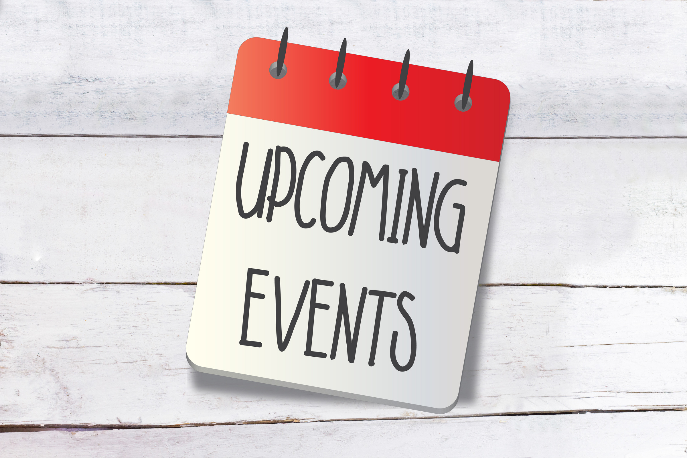 Coming Events Calendar Day Date Upcoming Soon